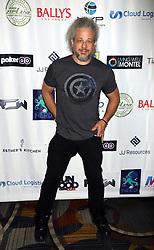 "Joe Reitman arriving for the One Step Closer ""All In For CP"" celebrity charity poker event held at Ballys Poker Room, Ballys Hotel & Casino, Las Vegas, December 9, 2018"