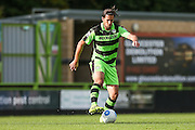 Forest Green Rovers Darren Carter(12) runs forward during the Vanarama National League match between Forest Green Rovers and Barrow at the New Lawn, Forest Green, United Kingdom on 1 October 2016. Photo by Shane Healey.
