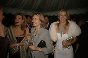 SABINA MCTAGGART,MRS. ARNAUD BAMBERGER AND MRS. STEFANO MARSAGLIA, Cartier dinner in the Chelsea Physic Garden. 22 May 2006. ONE TIME USE ONLY - DO NOT ARCHIVE  © Copyright Photograph by Dafydd Jones 66 Stockwell Park Rd. London SW9 0DA Tel 020 7733 0108 www.dafjones.com
