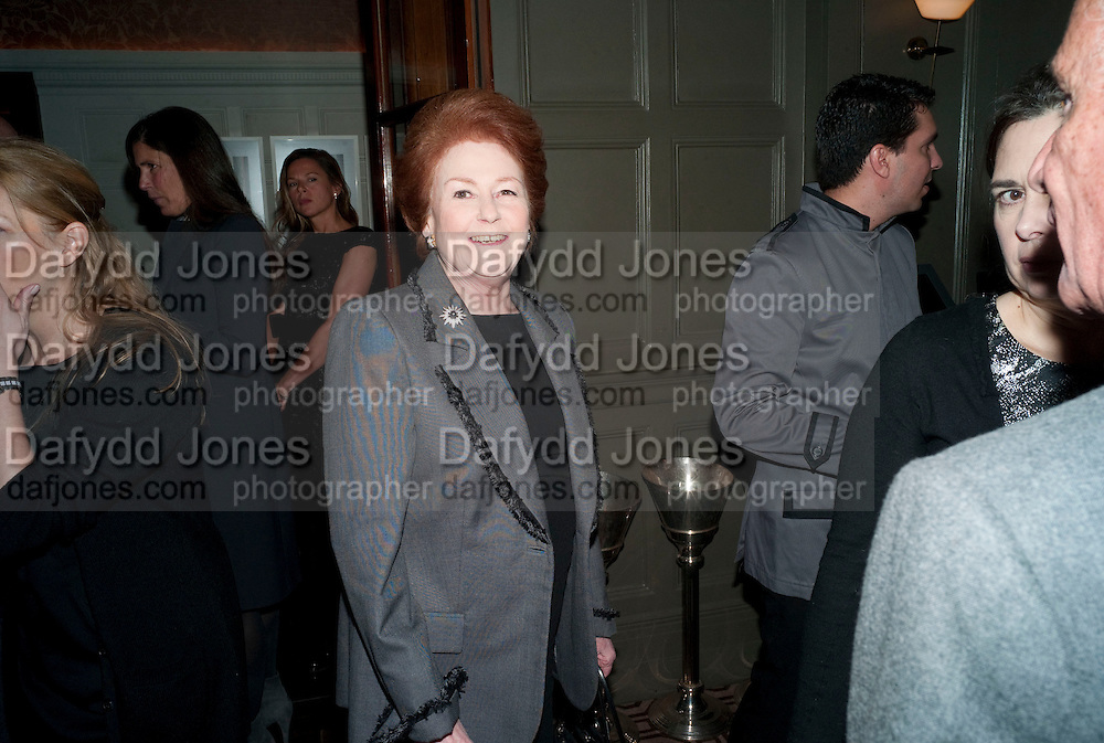 LADY ELIZABETH ANSON, Graydon and Anna Carter host a lunch for Carolina Herrera to celebrate the ipening of her new shop on Mount St. .The Connaught. London. 20 January 2010