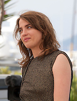 Actress Adèle Haenel at The Unknown Girl (La Fille Inconnue)  film photo call at the 69th Cannes Film Festival Wednesday 18th May 2016, Cannes, France. Photography: Doreen Kennedy