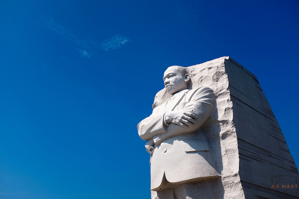 The Dr. Martin Luther King memorial in Washington, D.C., Saturday, Aug. 29, 2015. (AJ Mast )
