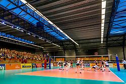 05-04-2017 NED:  CEV U18 Europees Kampioenschap vrouwen dag 4, Arnhem<br /> Nederland - Turkije 3-1 / Nederland doet zeer goede zaken en kan zich met winst op Itali&euml; zeker stellen van een halve finaleplaats - Sporthal Valkenhuizen