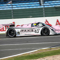 #43 Porsche 962 C 3.2l (1990), chassis 201, Richard Lloyd Racing, here photographed at the Silverstone Classic 26 July 2008