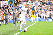 Leeds United defender Ezgjan Alioski (10) during the EFL Sky Bet Championship match between Leeds United and Swansea City at Elland Road, Leeds, England on 31 August 2019.