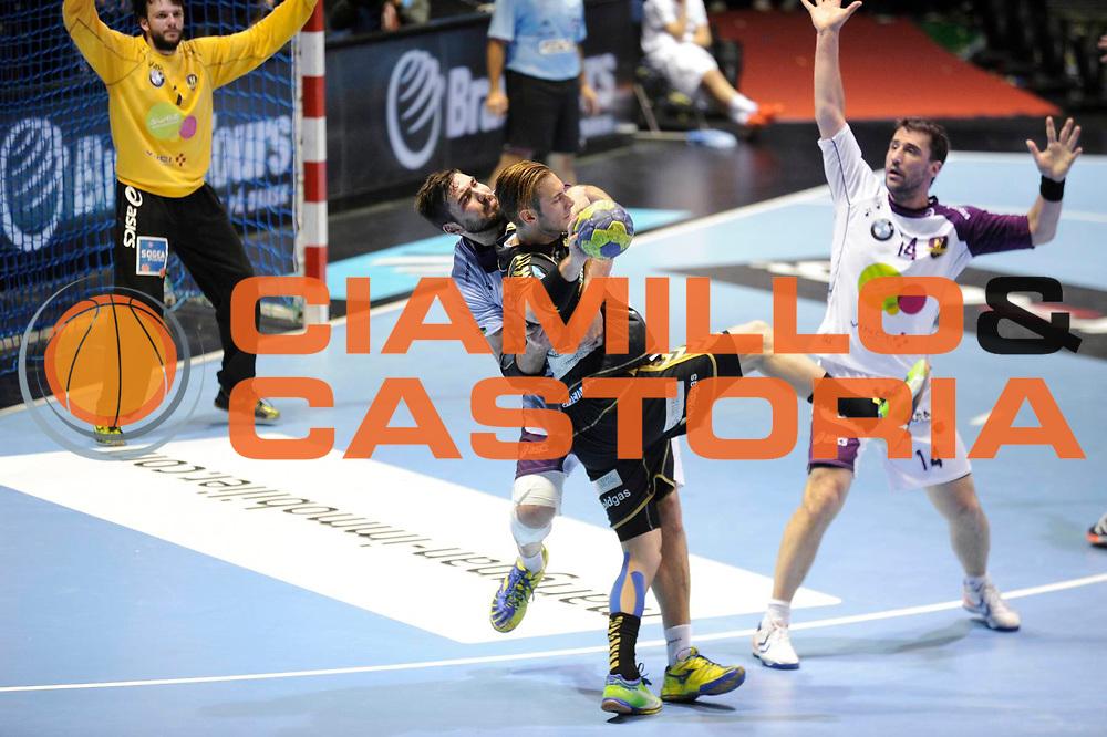 DESCRIZIONE : HandbaLL Cup Finale EHF Homme<br /> GIOCATORE : Jorge MAQUEDA PENO<br /> SQUADRA : Nantes <br /> EVENTO : Coupe EHF Finale<br /> GARA : NANTES Rhein Neckar<br /> DATA : 19 05 2013<br /> CATEGORIA : Handball Homme<br /> SPORT : Handball<br /> AUTORE : JF Molliere <br /> Galleria : France Hand 2012-2013 Action<br /> Fotonotizia : HandbaLL Cup Finale EHF Homme<br /> Predefinita :