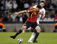 Fotball<br /> Spania v USA<br /> Foto: DPPI/Digitalsport<br /> NORWAY ONLY<br /> <br /> FOOTBALL - CONFEDERATIONS NATIONS CUP 2009 - 1/2 FINAL - SPAIN v USA - 24/06/2009 <br /> <br /> XABI ALONSO (SPA) / CLINT DEMPSEY (USA)
