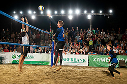 Pokersnik/Bozenk during Final of Beach Volleyball Slovenian National Championship 2018, on July 21, 2018 in Kranj, Slovenia. Photo by Urban Urbanc / Sportida