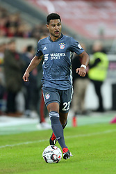 13.01.2019, Merkur Spiel Arena, Duesseldorf, GER, Telekom Cup, Fortuna Duesseldorf vs FC Bayern Muenchen, im Bild Serge Gnabry (Muenchen) mit Ball // during the Telekom Cup Match between Fortuna Duesseldorf and FC Bayern Muenchen at the Merkur Spiel Arena in Duesseldorf, Germany on 2019/01/13. EXPA Pictures © 2019, PhotoCredit: EXPA/ Eibner-Pressefoto/ Mario Hommes<br /> <br /> *****ATTENTION - OUT of GER*****