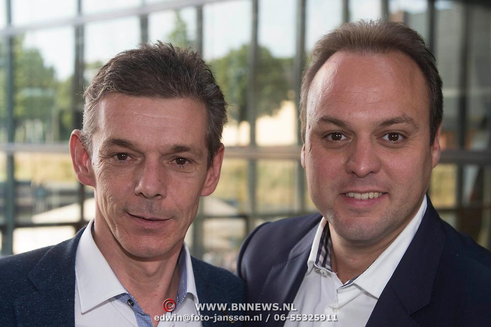 NLD/Hilversum/20130829 - Najaarspresentatie NPO 2013, Frans Bauer en broer Dorus Bauer