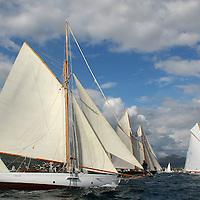 Voiles de St Tropez 2005. Voiliers classiques.