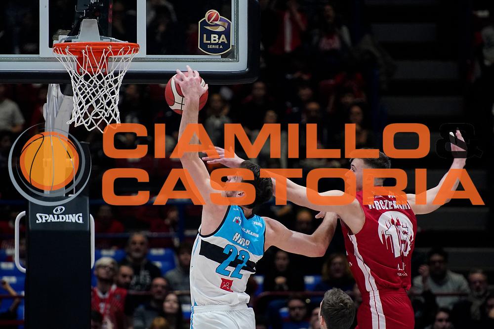 HappEthan <br /> A|X Armani Exchange Olimpia Milano - Vanoli Cremona <br /> Basket Serie A LBA 2019/2020<br /> Milano 09 February 2020<br /> Foto Mattia Ozbot / Ciamillo-Castoria