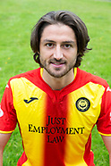 Partick Thistle 2017/18 Photo call - 27 July 2017