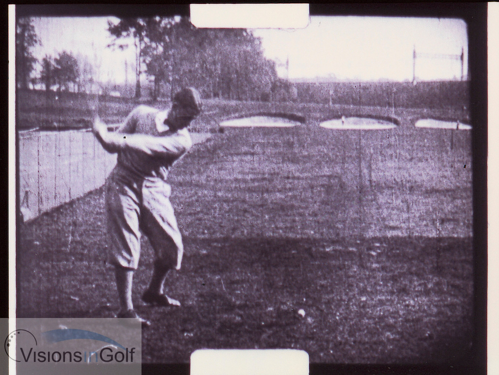 Bobby Jones swing sequence-2<br /> <br /> Picture Credit: &copy;Visions In Golf / Michael Hobbs / Mark Newcombe
