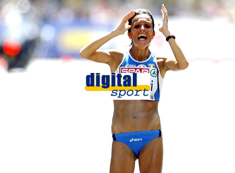 Friidrett, 31. juli  2010 ,<br /> EM Barcelona<br /> <br /> European Athletics Championships<br /> Barcelona<br /> <br /> <br /> Anna Incerti , ITA - maraton<br /> <br /> Foto: Anders Hoven , Digitalsport