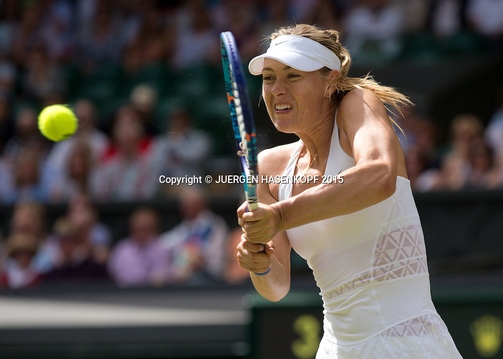 Maria Sharapova (RUS)<br /> <br /> Tennis - Wimbledon 2015 - Grand Slam ITF / ATP / WTA -  AELTC - London -  - Great Britain  - 7 July 2015.
