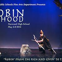 Robin Hood - Norwood High - May 2016 - Dan Busler Photography
