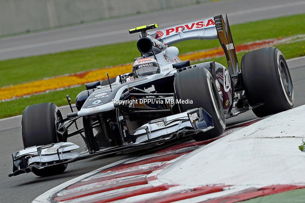 MOTORSPORT - F1 2013 - GRAND PRIX OF CANADA - MONTREAL (CAN) - 07 TO 09/06/2013 - PHOTO ERIC VARGIOLU / DPPI BOTTAS VALTTERI (FIN) - WILLIAMS F1 RENAULT FW35 - ACTION