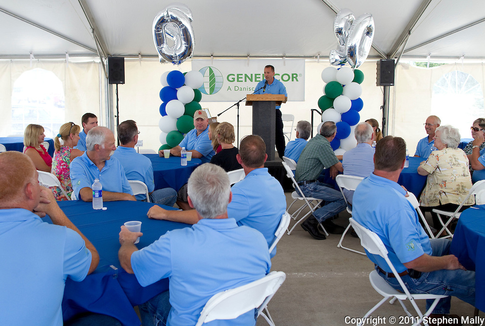 Genencor 20th Anniversary party at Genencor in Cedar Rapids on Thursday, July 21, 2011. (Stephen Mally/Freelance)
