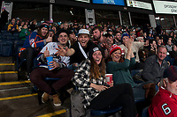 KELOWNA, CANADA - JANUARY 17: Fans in the stands on January 17, 2017 at Prospera Place in Kelowna, British Columbia, Canada.  (Photo by Marissa Baecker/Shoot the Breeze)  *** Local Caption ***