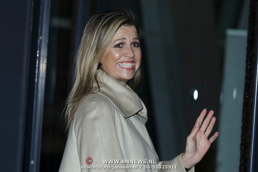 NLD/Amsterdam/20141202 - Koningin Maxima neemt publicatie Dutch Sustainable Growth Coalition in ontvangst