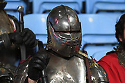 A Knight in shining Armour in the stands during the Gallagher Premiership Rugby match between Wasps and Saracens at the Ricoh Arena, Coventry, England on 21 February 2020.
