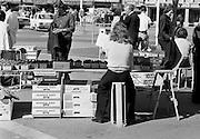 Marknad på torget i Trondheim