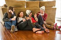 Burris family session.  ©2014 Karen Bobotas Photographer
