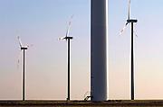 Duitsland, Juchen, 27-10-2009Windmolens van windmolenfabriek Vestas staan in het landschap.Ze zijn van energiebedrijf RWE, die in Nederland Essent heeft overgenomen.Foto: Flip Franssen/Hollandse Hoogte