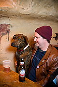 Brandon Herndon and Marvin at the Cave in Chapel Hill, NC.