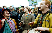 Legalise Cannabis march, London, UK, 1998