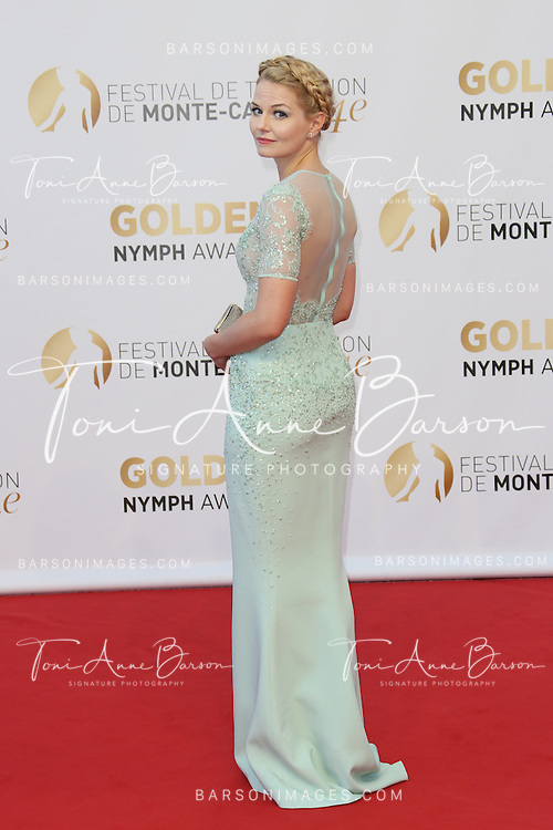 MONTE-CARLO, MONACO - JUNE 11:  Jennifer Morrison attends the Closing Ceremony and Golden Nymph Awards of the 54th Monte Carlo TV Festival on June 11, 2014 in Monte-Carlo, Monaco.  (Photo by Tony Barson/FilmMagic)