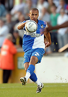Football<br /> Bristol Rovers vs Aldershot Town, Carling Cup 1st Round, Memorial Stadium, Bristol, UK<br /> Carl Regan of Bristol Rovers <br /> 11/08/2009<br /> Credit Colorsport/Dan Rowley