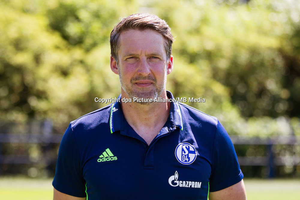 German Bundesliga - Season 2016/17 - Photocall FC Schalke 04 on 20 July 2016 in Gelsenkirchen, Germany: | usage worldwide