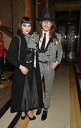 Joshua Kane and Jordan Ebbitt at the Warner Music Brit Party held at the Freemason's Hall, 60 Great Queen Street, London on 25th February 2015.