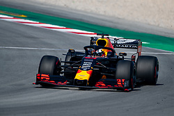 February 28, 2019 - Montmelo, Barcelona, Calatonia, Spain - Pierre Gasly of Aston Martin RedBull Racing seen in action during the second week F1 Test Days in Montmelo circuit, Catalonia, Spain. (Credit Image: © Javier Martinez De La Puente/SOPA Images via ZUMA Wire)