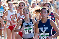New York, New York  - Runners compete in the Ivy League Heptagonal women's<br />