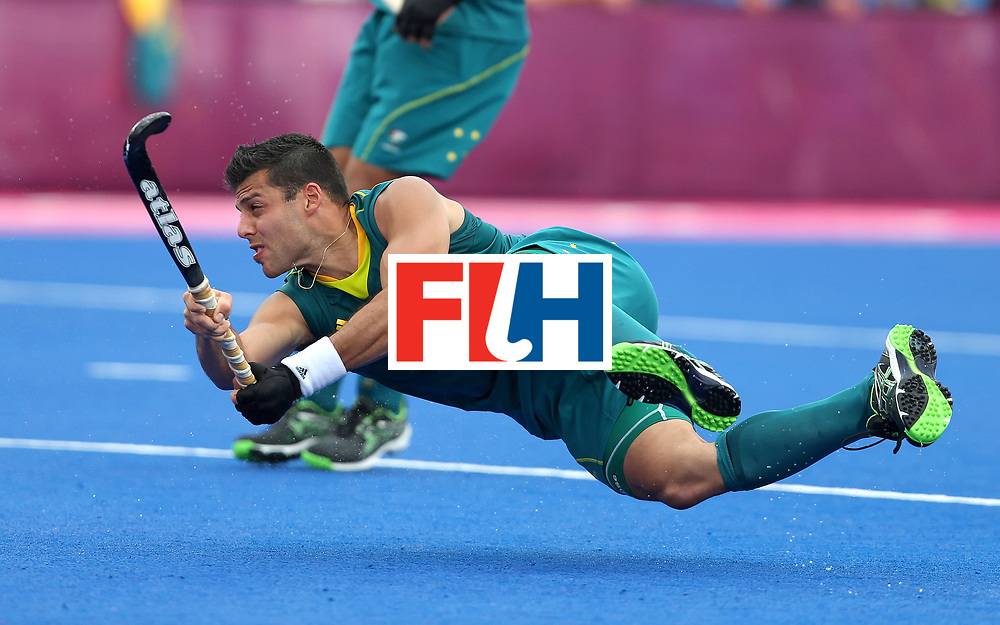 London Olympics 01/08/2012.Mens Hockey, Australia v Spain.Chris Ciriello.Photo: Grant Treeby
