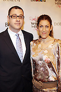 William Werde and Julia Greenberg at the Billboard's 3rd Annual Women in Music Breakfast held at St. Regis Hotel held on October 24, 2008..The Women in Breakfast was established to recognize extraordinary women in the music industry whii have made significant contributions to the business and who, through their hard work and continued success, inspire generations of women to take on increasing responsibilities within the field.