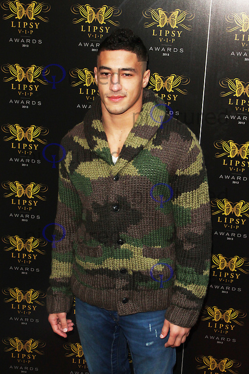 LONDON - May 29: Ashley McKenzie at the Lipsy VIP Fashion Awards 2013 (Photo by Brett D. Cove)