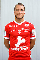 Valentin Lavigne of Brest during the Photo shooting of Stade Brestois in Brest on september 22th 2016<br /> Photo : Philippe Le Brech / Icon Sport