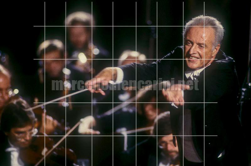 Conductor Carlos Kleiber, Pompei 1987 / Il direttore d'orchestra Carlos Kleiber, Pompei 1987 - © Marcello Mencarini