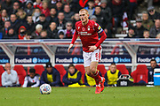 Ben Watson of Nottingham Forest during the EFL Sky Bet Championship match between Nottingham Forest and Derby County at the City Ground, Nottingham, England on 9 November 2019.