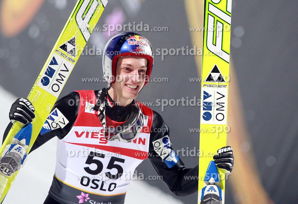 03.03.2011, Hollmenkollen, Oslo, NOR, FIS Nordische Ski WM 2011, OSLO, Skispringen, im Bild GREGOR SCHLIERENZAUER, EXPA/ Newspix/ JERZY KLESZCZ +++++ ATTENTION - FOR AUSTRIA/ AUT, SLOVENIA/ SLO, SERBIA/ SRB an CROATIA/ CRO, SWISS/ SUI and SWEDEN/ SWE CLIENT ONLY +++++