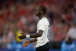 MUNICH, GERMANY - Tuesday, August 1, 2017: Liverpool's Sadio Mane celebrates the first goal during the Audi Cup 2017 match between FC Bayern Munich and Liverpool FC at the Allianz Arena. (Pic by David Rawcliffe/Propaganda)
