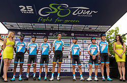 Team Israel Cycling Academy prior to 1st Stage of 25th Tour de Slovenie 2018 cycling race between Lendava and Murska Sobota (159 km), on June 13, 2018 in  Slovenia. Photo by Matic Klansek Velej / Sportida