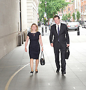 Andrew Marr Show arrivals <br /> at BBC Broadcasting House, London, Great Britain <br /> 17th July 2016 <br /> <br /> Justine Greening <br /> <br /> <br /> <br /> <br /> <br /> <br /> Photograph by Elliott Franks <br /> Image licensed to Elliott Franks Photography Services