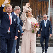 NLD/Hoogeveen/20190918 - Koningspaar brengt bezoek Zuid-west Drenthe, Koning Willem Alexander en Koningin Maxima komen