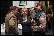 Launch of Rachel Kelly's memoir 'Black Rainbow' about recovering from depression with the help of poetry published by Hodder & Stoughton , ( Author proceeds will be given to the charities SANE and United Response ). Cafe of the National Gallery.  London. 7 May 2014