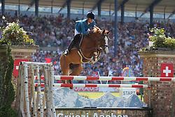 Diniz, Luciana, Fit for Fun<br /> Aachen - CHIO 2014<br /> Preis von NRW<br /> © www.sportfotos-lafrentz.de/ Stefan Lafrentz